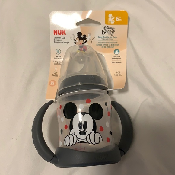 Nuk 6 month Mickey Mouse leaner cup